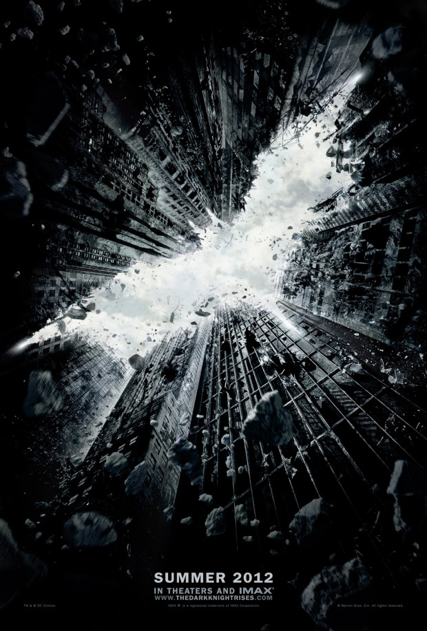 Kinocast.lv: Постер The Dark Knight Rises с отсылается на Batman Begins