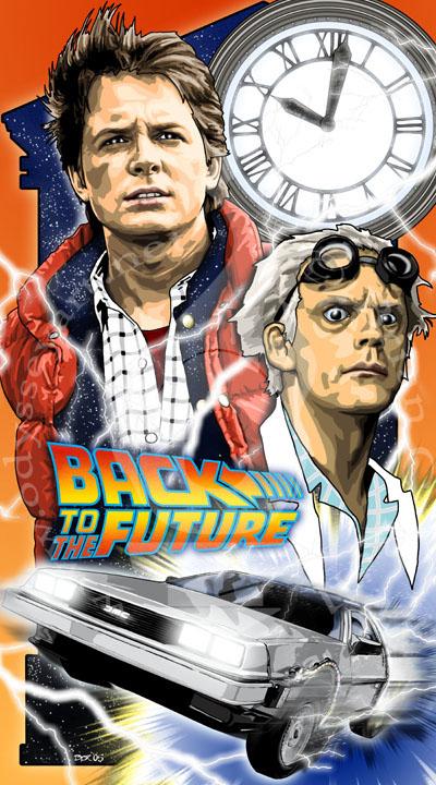 Праздник Back to the Future (5 ноября)