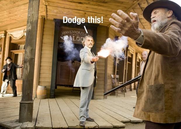 Django Unchained (Džemijs Fokss, Leonardo DiKaprio, Kristofs Valcs)