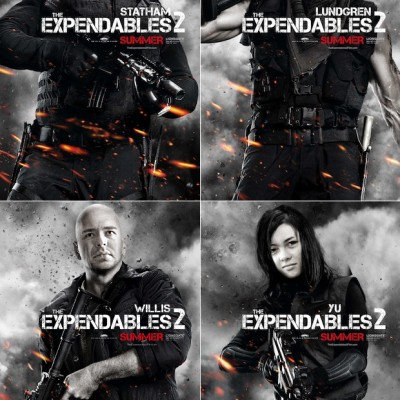 Kinoblogeri piedāvā: The Expendables 2