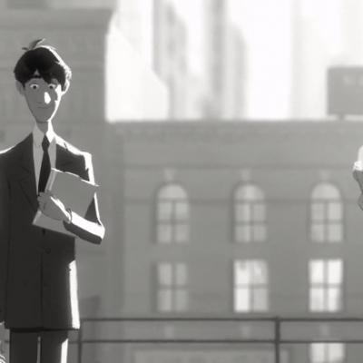 Īsfilma: Disney īsfilma Paperman (nominēta uz Oskaru)